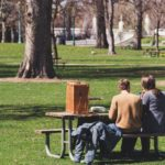 talking social benefits in green spaces