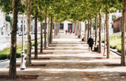 sidewalk heat island prevention environmenta benefits