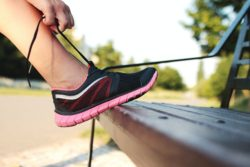 running healthy weight in green spaces
